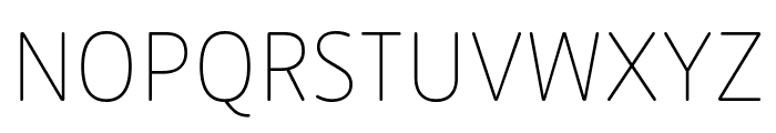Zen New Thin Font UPPERCASE