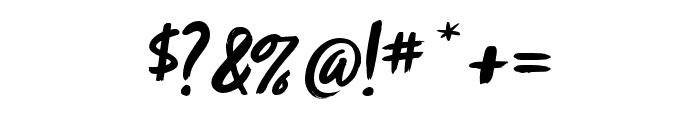 Zooja Pro Regular Font OTHER CHARS