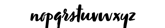Zooja Pro Regular Font LOWERCASE