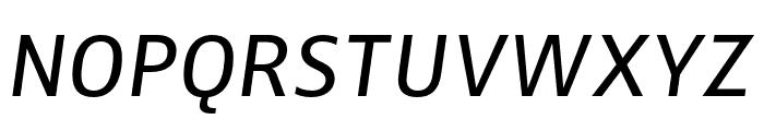 Zwo Corr Pro Italic Font UPPERCASE