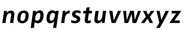 Zwo Pro Bold Italic Font LOWERCASE