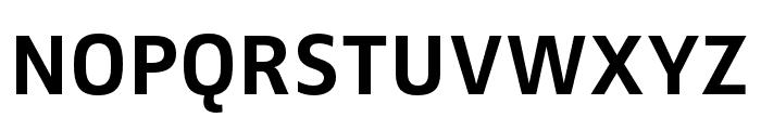 Zwo Pro Bold Font UPPERCASE