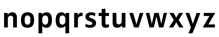 Zwo Pro Bold Font LOWERCASE