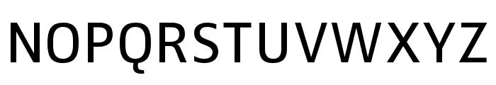 Zwo Pro Regular Font UPPERCASE