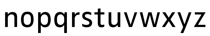 Zwo Pro Regular Font LOWERCASE