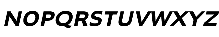 Adams Bold Italic Font UPPERCASE