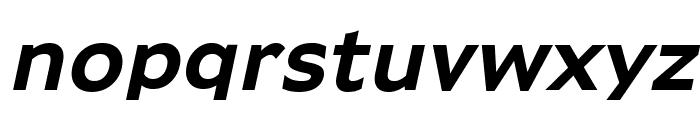 Adams Bold Italic Font LOWERCASE