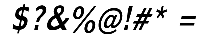 Adams Condensed Italic Font OTHER CHARS