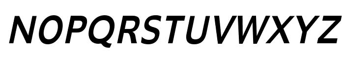 Adams Condensed Italic Font UPPERCASE
