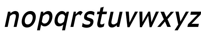 Adams Condensed Italic Font LOWERCASE