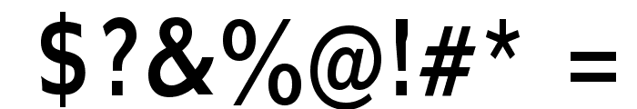 Adams Condensed Normal Font OTHER CHARS