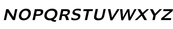 Adams Italic Font UPPERCASE