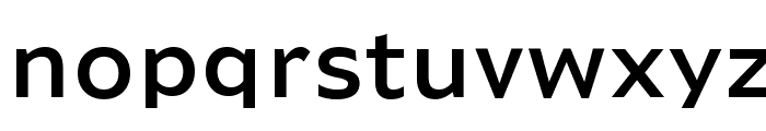Adams Normal Font LOWERCASE