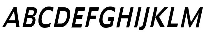 Adams Thin Italic Font UPPERCASE
