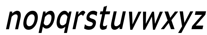 Adams Thin Italic Font LOWERCASE