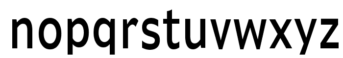 Adams Thin Normal Font LOWERCASE