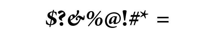 AdobeArabic-BoldItalic Font OTHER CHARS