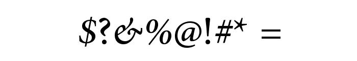AdobeArabic-Italic Font OTHER CHARS