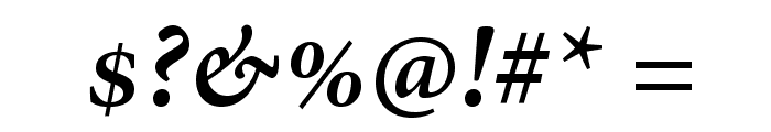 AdobeHebrew-BoldItalic Font OTHER CHARS