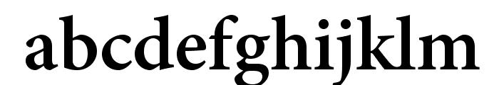AdobeHebrew-Bold Font LOWERCASE