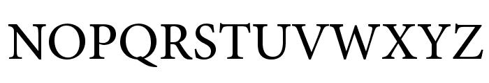 AdobeHebrew-Regular Font UPPERCASE