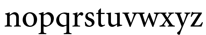 AdobeHebrew-Regular Font LOWERCASE