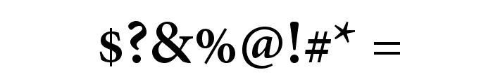 AdobeThai-Bold Font OTHER CHARS