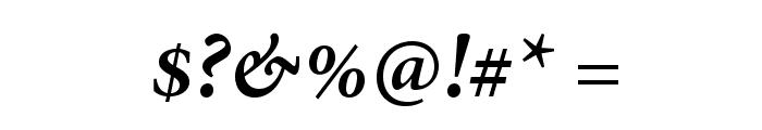 AdobeThai-BoldItalic Font OTHER CHARS