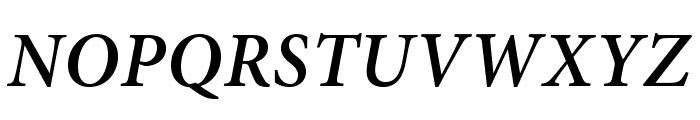 AdobeThai-BoldItalic Font UPPERCASE