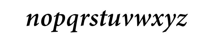 AdobeThai-BoldItalic Font LOWERCASE
