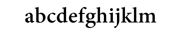 AdobeThai-Bold Font LOWERCASE
