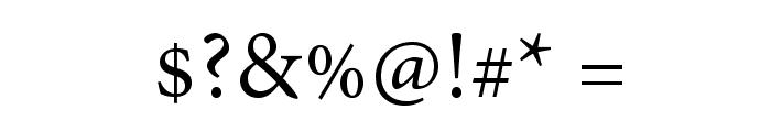 AdobeThai-Regular Font OTHER CHARS