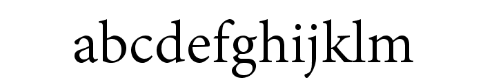 AdobeThai-Regular Font LOWERCASE