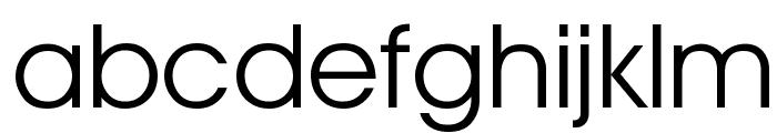 Advantage Book Font LOWERCASE