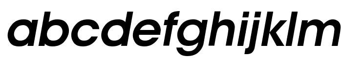 Advantage Demi Oblique Font LOWERCASE