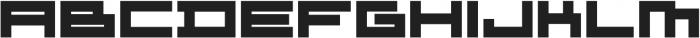 ADAPType Heavy Extended otf (800) Font UPPERCASE