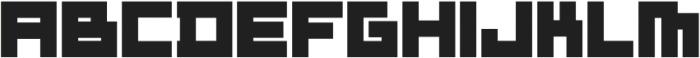 ADAPType Heavy otf (800) Font UPPERCASE