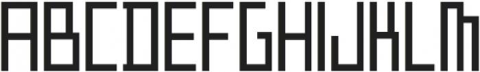 ADAPType Light Condensed otf (300) Font UPPERCASE