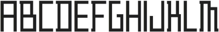 ADAPType Light Condensed otf (300) Font LOWERCASE