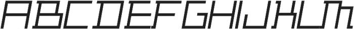 ADAPType Light Oblique otf (300) Font LOWERCASE