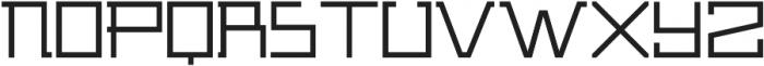 ADAPType Light otf (300) Font LOWERCASE