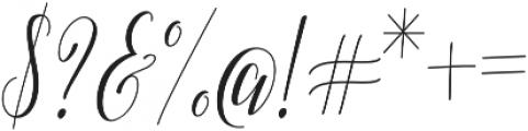 Adalberta otf (400) Font OTHER CHARS