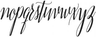 Adalberta otf (400) Font LOWERCASE