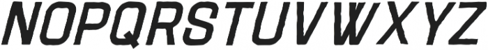 Adamantine Italic otf (400) Font UPPERCASE