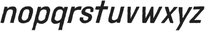 Adamantine Italic otf (400) Font LOWERCASE