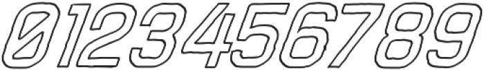 Adamantine Outline otf (400) Font OTHER CHARS