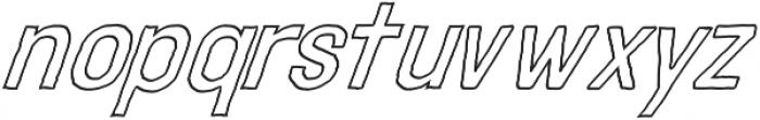 Adamantine Outline otf (400) Font LOWERCASE