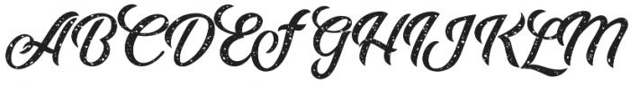 Adamantine Rough otf (400) Font UPPERCASE