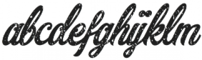 Adamantine Rough otf (400) Font LOWERCASE