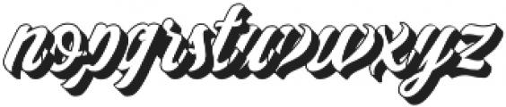 Adamantine shadow  otf (400) Font LOWERCASE